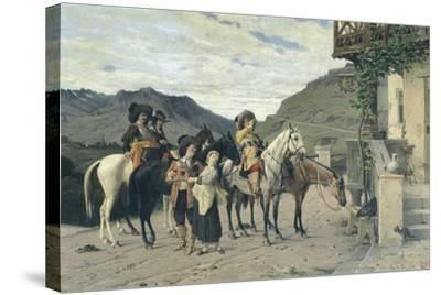 The Halfway House-Lorenzo di Niccolo Gerini-Stretched Canvas Print