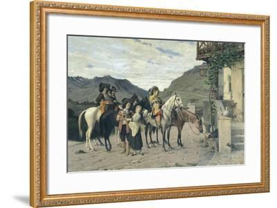 The Halfway House-Lorenzo di Niccolo Gerini-Framed Giclee Print