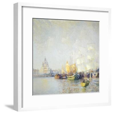 Glimpse of Venice--Framed Giclee Print