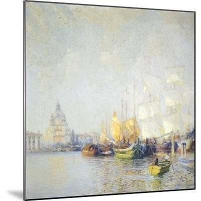 Glimpse of Venice--Mounted Giclee Print