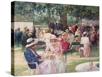 Henley Regatta-Paul Gribble-Stretched Canvas Print