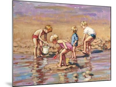 Collecting Shells-Paul Gribble-Mounted Giclee Print