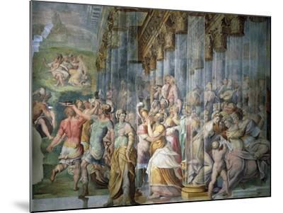 Dance Scene with Kiss, Circa 1570-Jacopo Cambi-Mounted Giclee Print