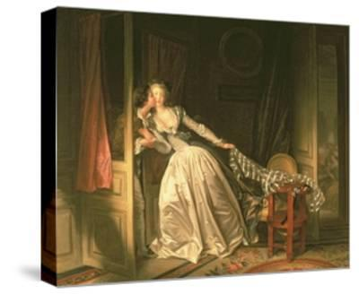 The Stolen Kiss, C.1788-Jean-Philippe Rameau-Stretched Canvas Print