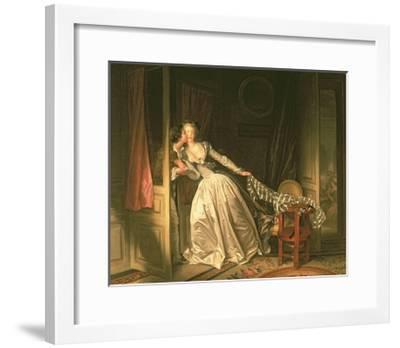 The Stolen Kiss, C.1788-Jean-Philippe Rameau-Framed Giclee Print