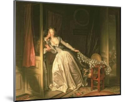 The Stolen Kiss, C.1788-Jean-Philippe Rameau-Mounted Giclee Print