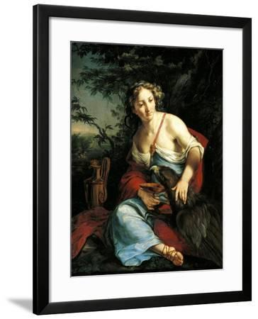Hebe and Jupiter-Suzanne Valadon-Framed Giclee Print