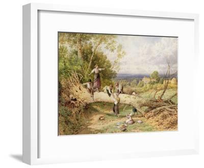 Playtime-Myles Birket Foster-Framed Giclee Print