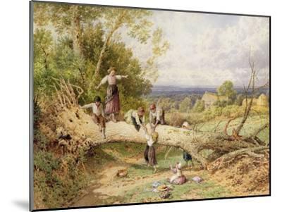 Playtime-Myles Birket Foster-Mounted Giclee Print
