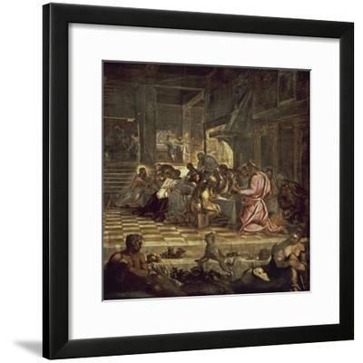 The Last Supper-Jacopo Sansovino-Framed Giclee Print
