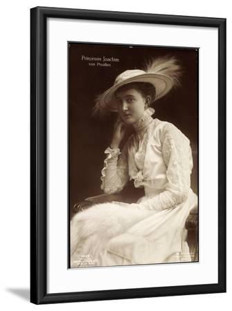 Prinzessin Joachim Von Preußen, Liersch 7649--Framed Giclee Print