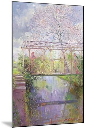 The Trellis Crossing-Timothy Easton-Mounted Giclee Print