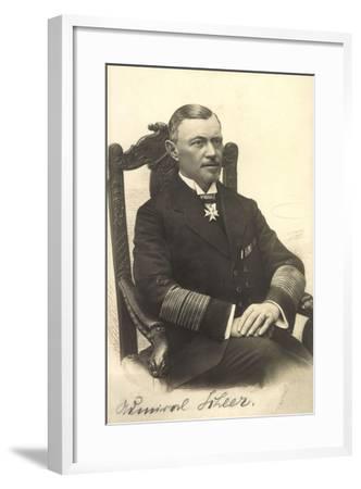 Foto Admiral Reinhard Scheer, Skagerrschlacht--Framed Giclee Print