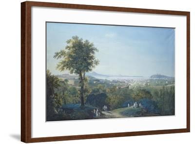 Naples from Capodimonte Scudillo-Salvatore Li Greci-Framed Giclee Print