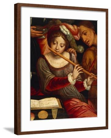 Musicians-Pieter Coecke Van Aelst the Elder-Framed Giclee Print