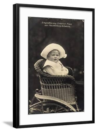 Erbgroßherzog Friedrich Franz V Mecklenburg Schwerin--Framed Giclee Print