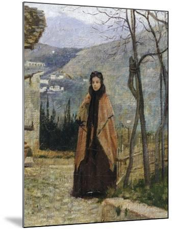 The Visit, Detail-Silvestro Lega-Mounted Giclee Print