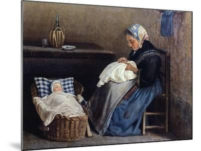 The Grandmother, 1865-Silvestro Lega-Mounted Giclee Print