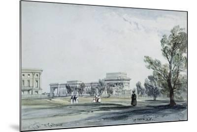 Entrance to Hyde Park at Hyde Park Corner-William Clark-Mounted Giclee Print