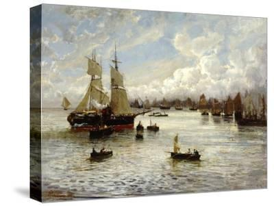 Marina-Prilidiano Pueyrredon-Stretched Canvas Print