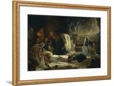 Burial of Jesus Christ, 1895-Vilmos Zsolnay-Framed Giclee Print