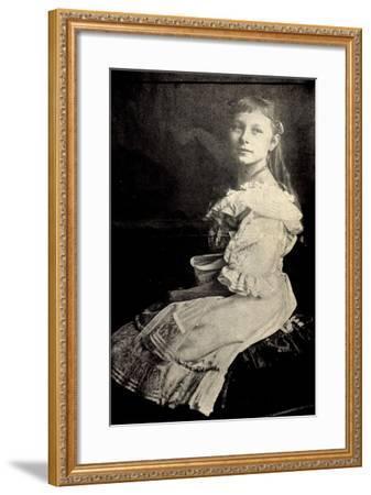 Prinzessin Viktoria Luise Von Preußen Sitzend--Framed Giclee Print