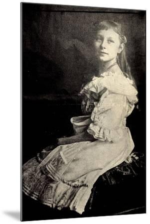 Prinzessin Viktoria Luise Von Preußen Sitzend--Mounted Giclee Print