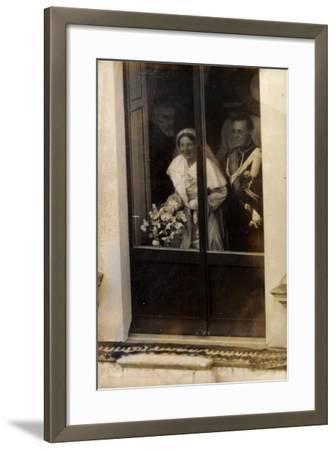 Niederlande, Prinzessin Juliana Und Prinz Bernhard--Framed Giclee Print