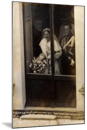 Niederlande, Prinzessin Juliana Und Prinz Bernhard--Mounted Giclee Print