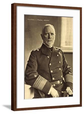 Exzellenz Admiral Max Von Fischel, Marineoffizier--Framed Giclee Print