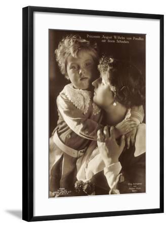 Prinzessin August Wilhelm Von Preußen, Sohn, Liersch--Framed Giclee Print