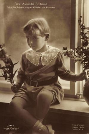 Prinz Alexander Ferdinand Als Kind, Liersch 7763--Framed Giclee Print