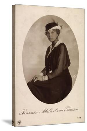 Passepartout Prinzessin Adalbert V Preußen, Npg 5418--Stretched Canvas Print