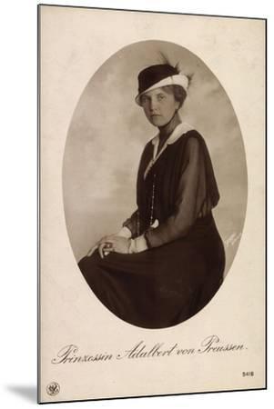 Passepartout Prinzessin Adalbert V Preußen, Npg 5418--Mounted Giclee Print