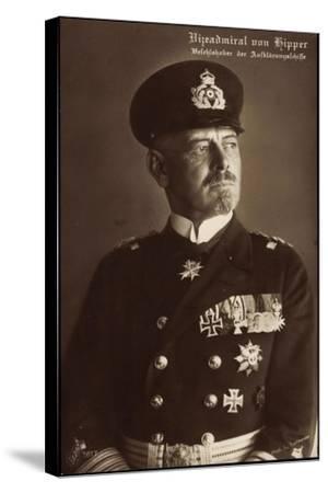 Vizeadmiral Franz Von Hipper, Erster Weltkrieg--Stretched Canvas Print
