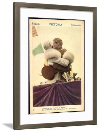 Belgisches Königspaar Astrid Und Leopold III--Framed Giclee Print
