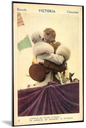 Belgisches Königspaar Astrid Und Leopold III--Mounted Giclee Print