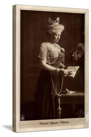 Kaiserin Auguste Viktoria, Perlenkette, Npg 4606--Stretched Canvas Print