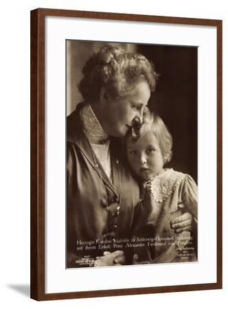 Karoline Z. Schleswig Holstein, Enkel, Liersch 7521--Framed Giclee Print