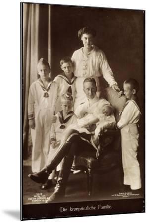 Kronprinz Friedrich Wilhelm, Cecilie,Kinder,Npg 7517--Mounted Giclee Print