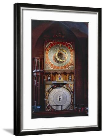 Astronomical Clock in Lund Cathedral, Sweden, Late 14th Century--Framed Giclee Print