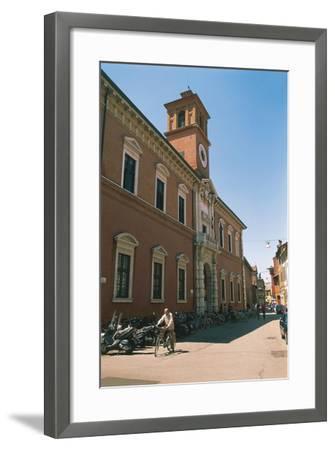 Italy - Emilia-Romagna Region-Ferrara, Library Building on Via Delle Scienze--Framed Giclee Print