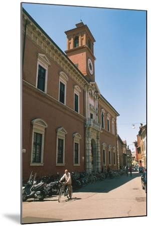 Italy - Emilia-Romagna Region-Ferrara, Library Building on Via Delle Scienze--Mounted Giclee Print