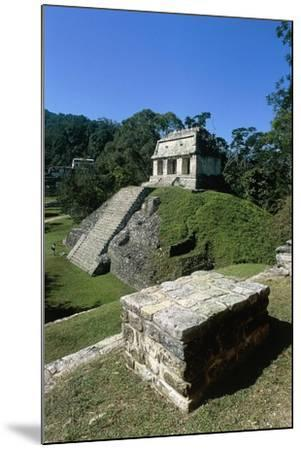 Mexico, Chiapas, Palenque, Mayan Archaeological Site, Temple of Count--Mounted Giclee Print