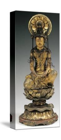 Buddha, Bronze Statue, Japan, 18th-19th Century--Stretched Canvas Print