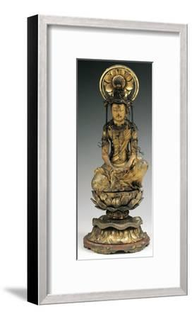Buddha, Bronze Statue, Japan, 18th-19th Century--Framed Giclee Print