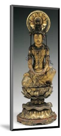 Buddha, Bronze Statue, Japan, 18th-19th Century--Mounted Giclee Print