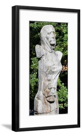 Figure with Two Faces, Ethnographic Museum, Sofia, Bulgaria--Framed Giclee Print