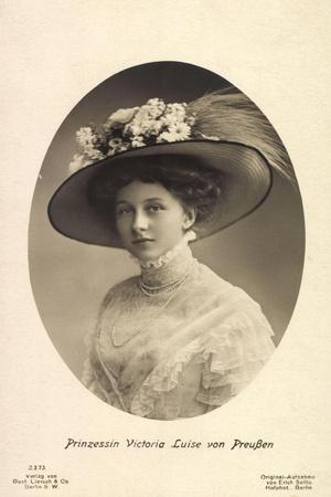 Prinzessin Victoria Luise Von Preußen, Liersch 2373--Framed Giclee Print