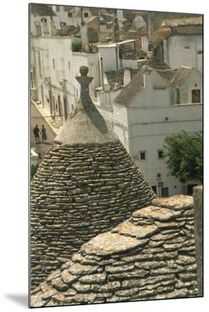 Italy, Apulia Region, Le Murge, Trulli Houses, Folk Architecture at Alberobello--Mounted Giclee Print
